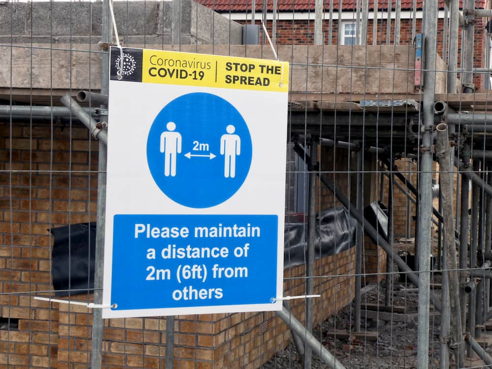 Construction Sites And COVID