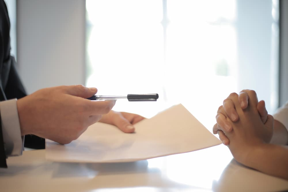 Legal Contract Of Employment