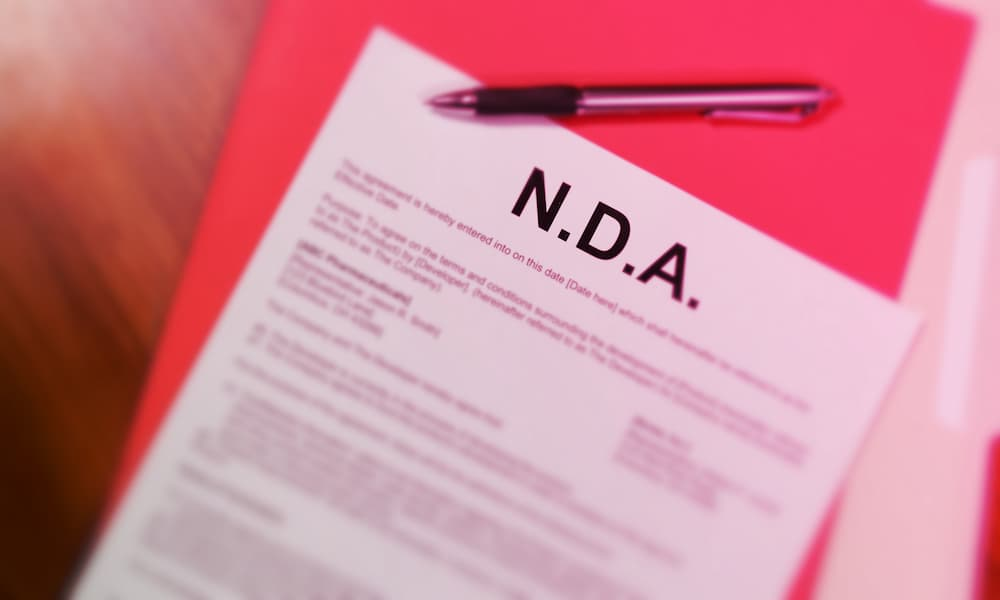 Non-Disclosure Agreement NDA